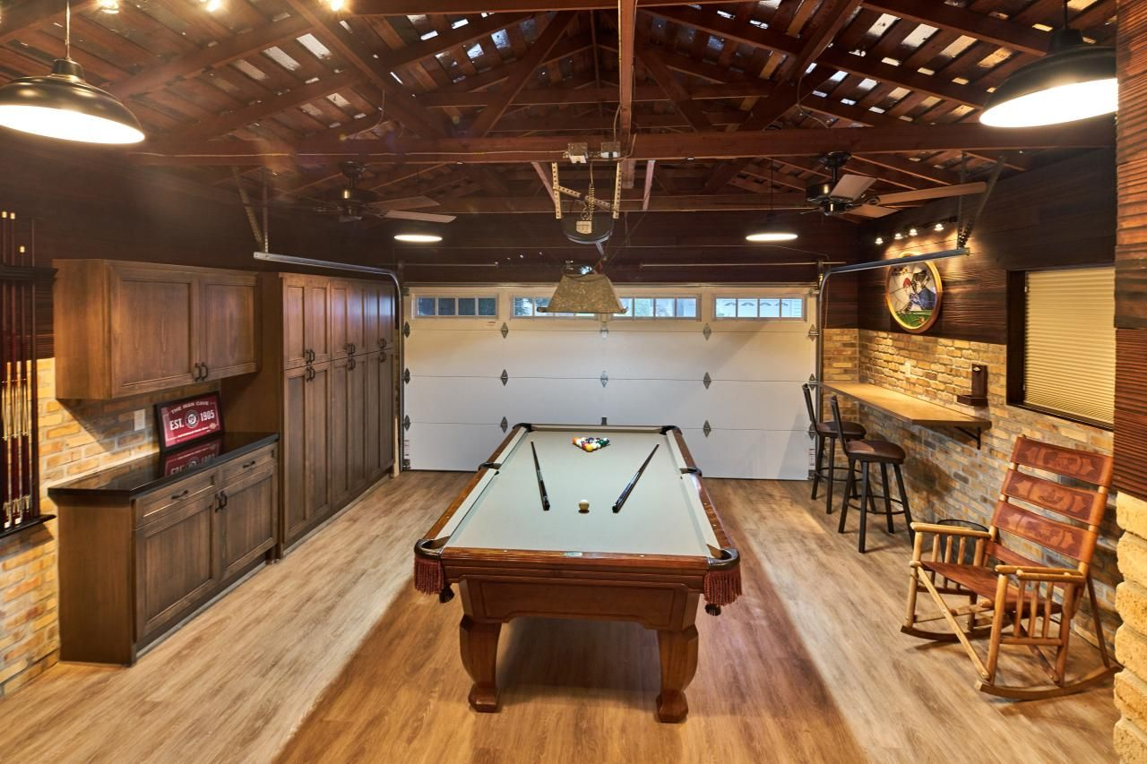 Garage Game Room Pinteres - Garage games room ideas