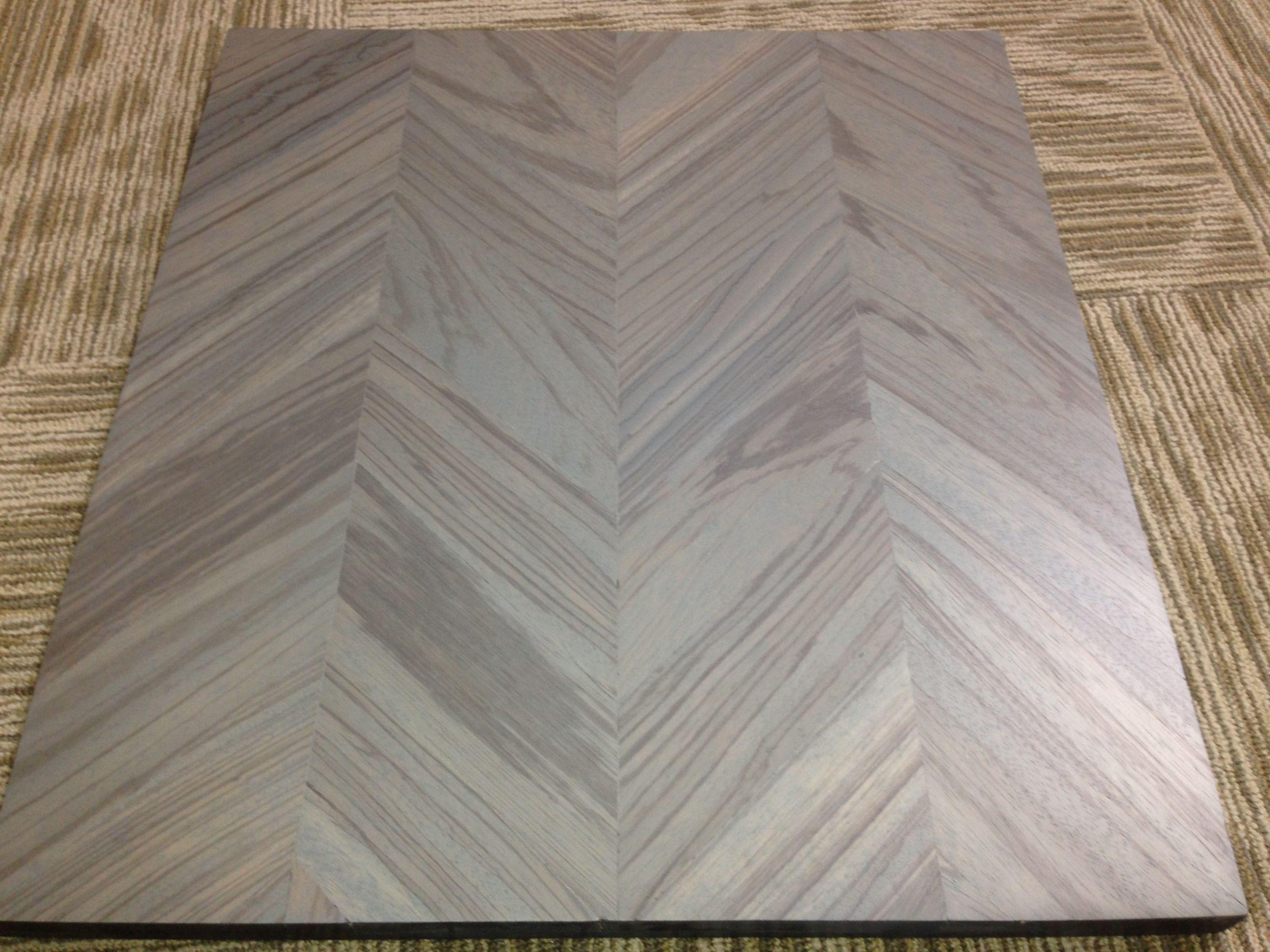 Grey Zebrawood Chevron Wood Floor Www Woodwright Net Flooring