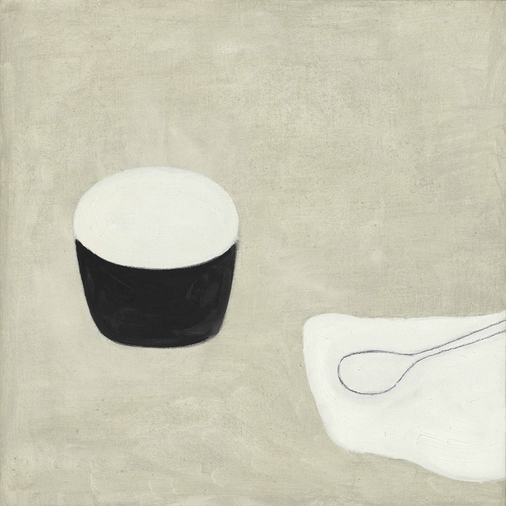William Scott, Poem for a Jug, No. 16, 1979–80, Oil on canvas, 50.8 × 50.7 cm / 20 × 20 in approx., Private collection