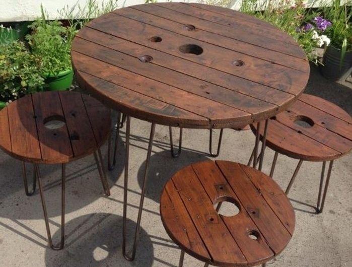 ▷1001+ idées que faire avec un touret - des inspirations récup - fabriquer sa piscine en bois