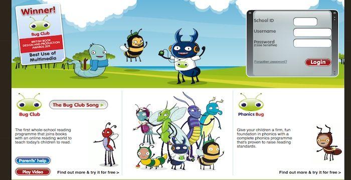 Bug Club Login Pearsonbugclub Com Online Page With Images