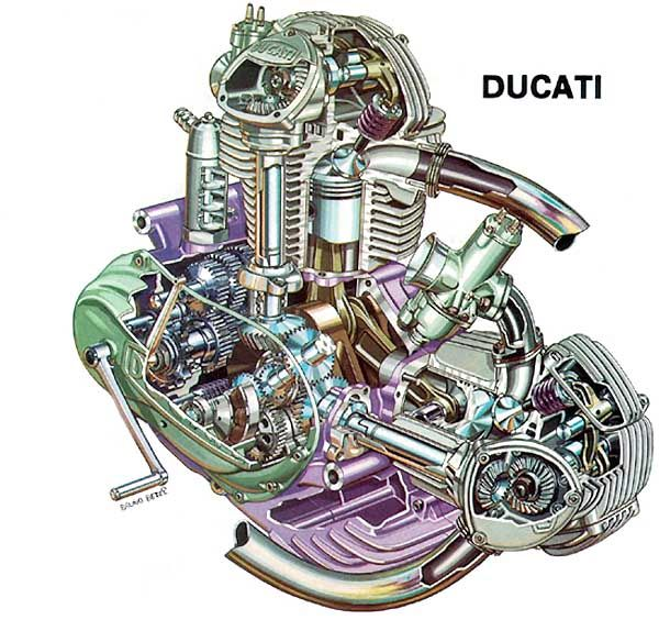 Ducati Engine: Ducati Engine Design Diagram At Executivepassage.co