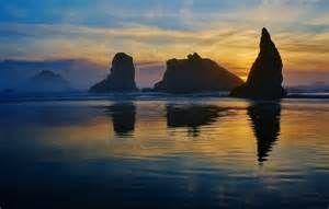 bandon beach, oregon - Bing images