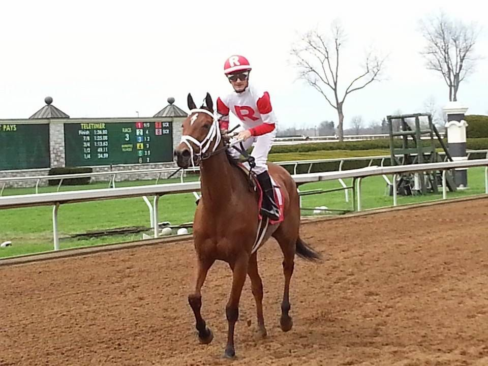 Kitten's Queen wins at Keeneland - 4/9/15