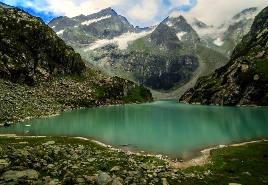 India Tulian Lake,Kashmir by Palash Kundu