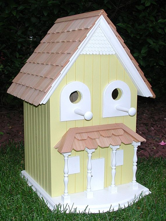 Best Hand Crafted Solid Wood Outdoor Birdhouse By 400 x 300