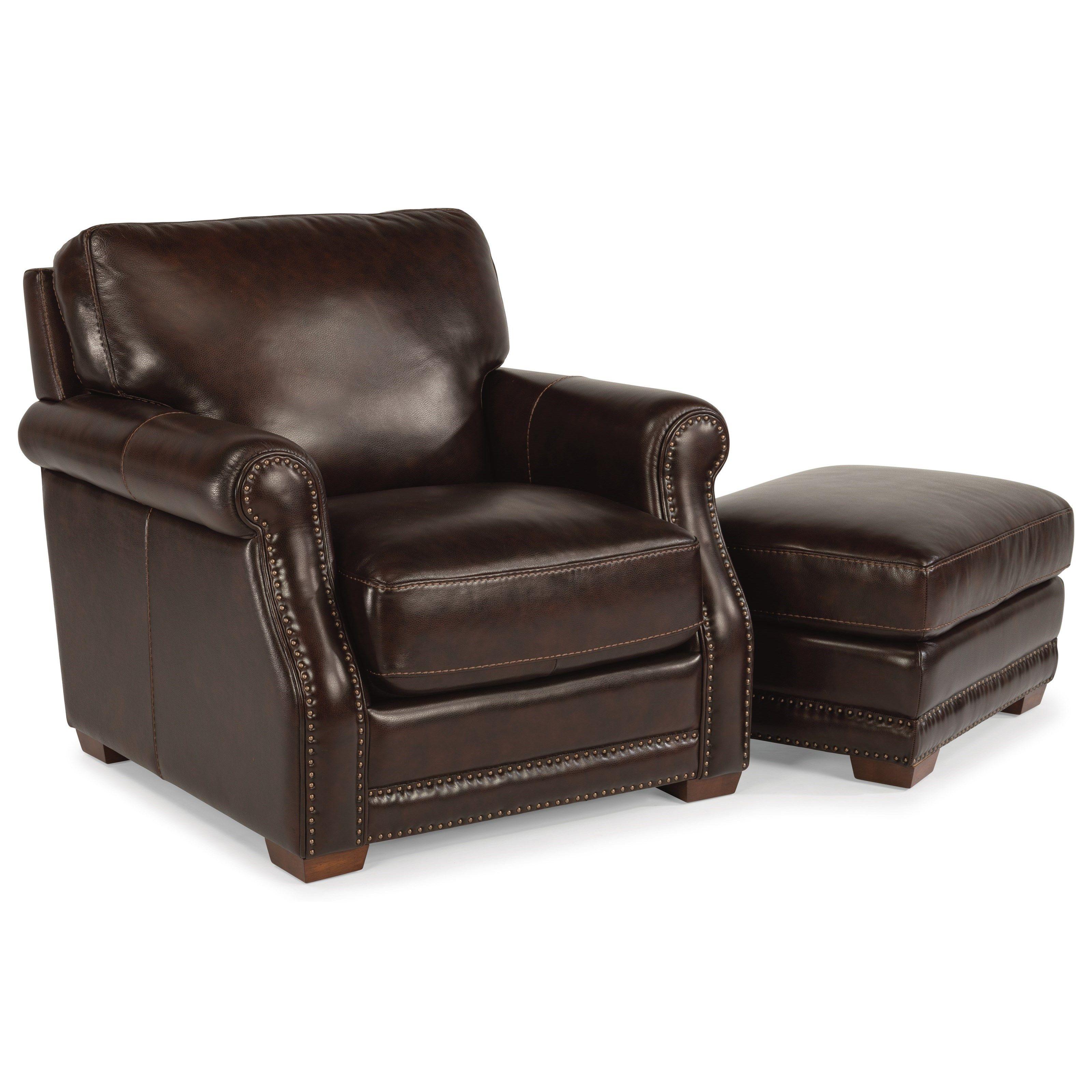 LatitudesChandler Chair and Ottoman Set by Flexsteel