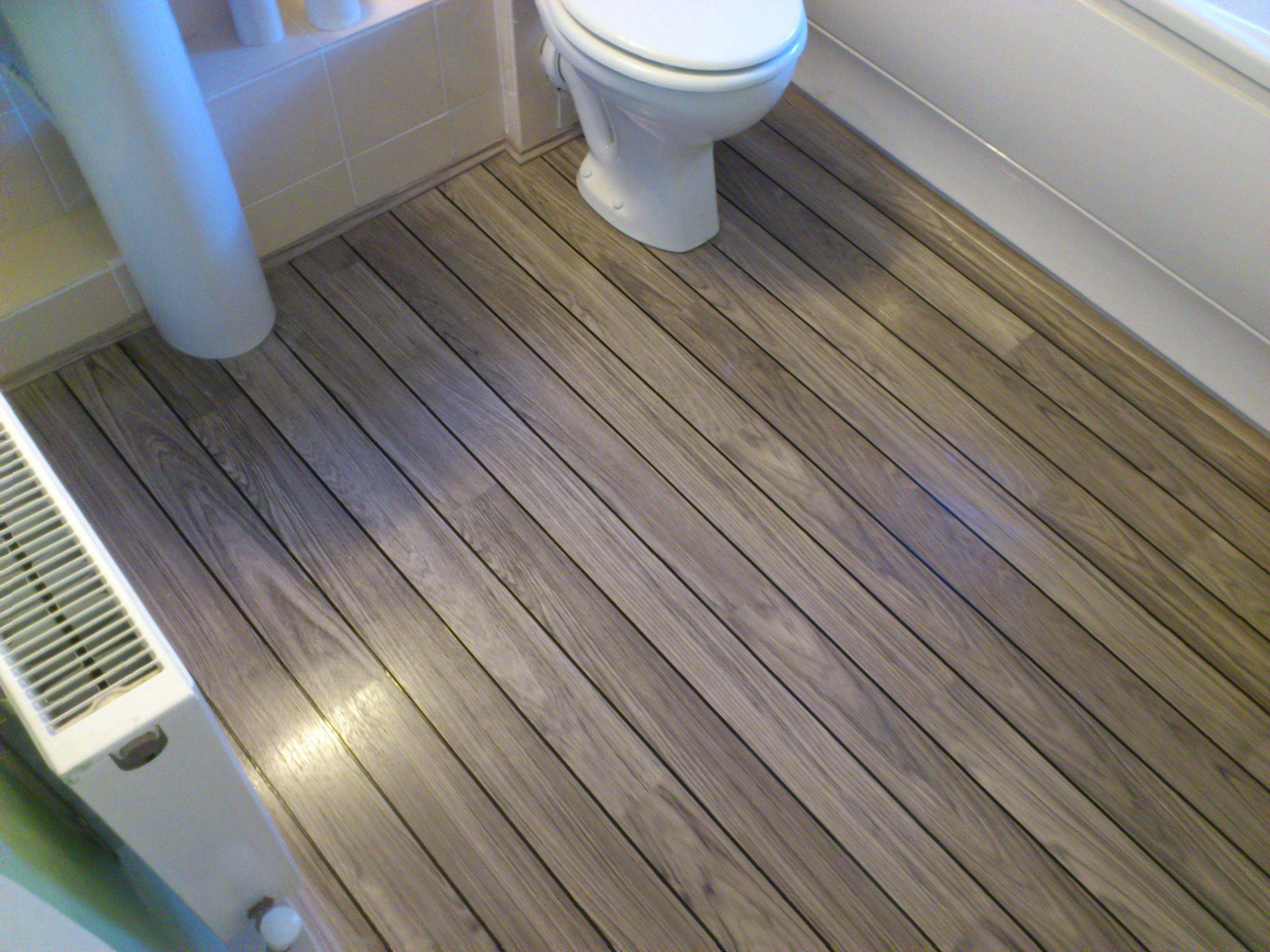 Quick Step Laminate Flooring In Bathroom Dublin