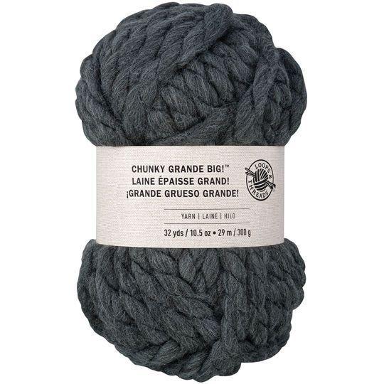 Chunky Grande Big Yarn By Loops Threads Jumbo Yarn Super Chunky Yarn Finger Crochet