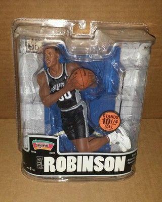 separation shoes 123ac 8a17e McFarlane NBA Legends 3 David Robinson Black Jersey San ...
