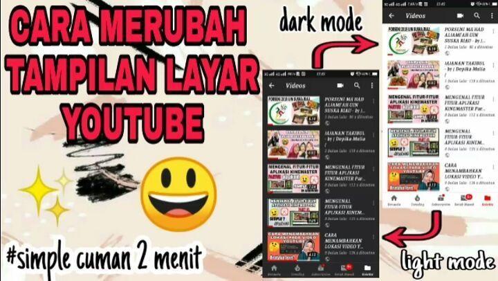 Sudah sekian lama akhirnya upload lagi ni skuyy . . . Kukuy mari kepoin hehhe semoga bermanfaat ya  Jangna lupa SUBSCRIBE, LIKE, COMMENT Ditunggu kunjungannya 😁😁😁😀😀 #kinemasterindonesia #videotutorial #youtubers #tiktok #tiktokvideos #diy #darkmode #lightmode #llf #llj #ff #kreativ