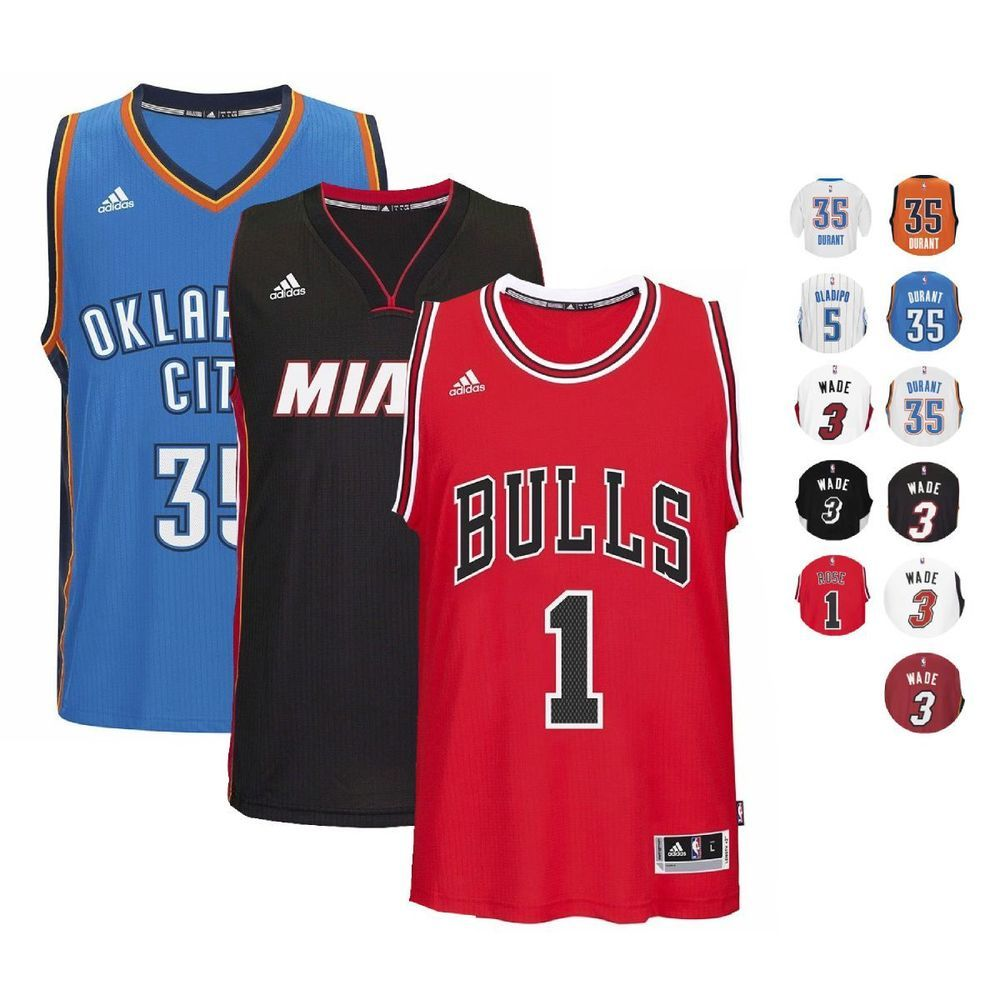 NBA Official ClimaCool Players Swingman Jersey Collection by Adidas Men S  e1f27d775