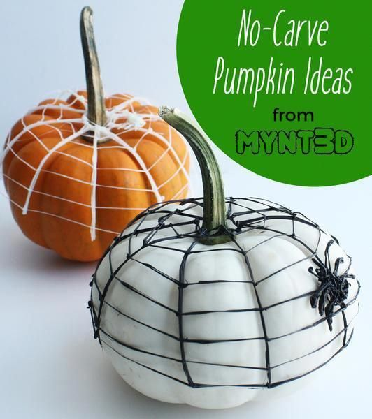 Halloween Safety Tips For Kids And Adults No Carve Pumpkins