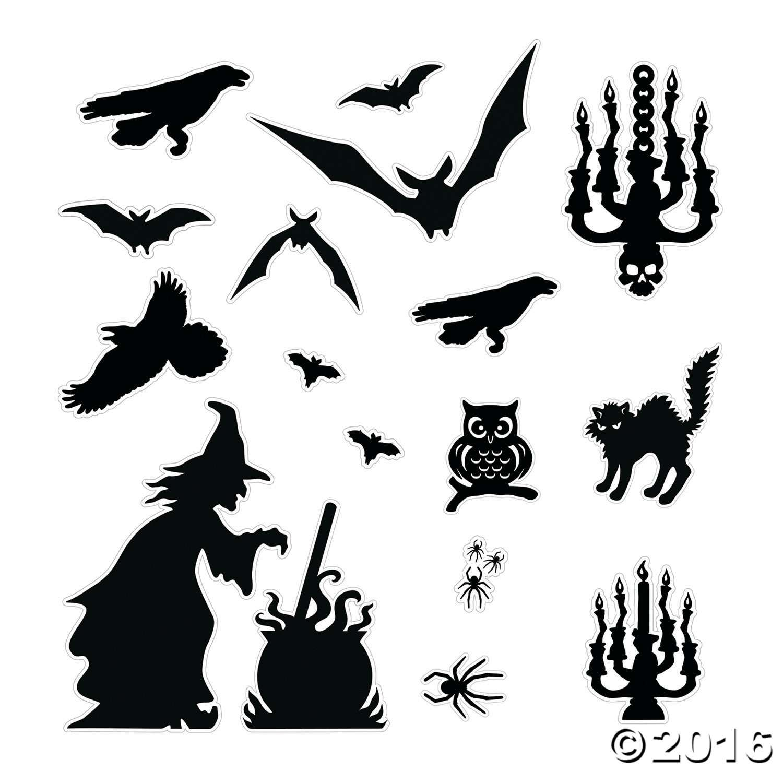 Halloween Silhouette Decor Kit