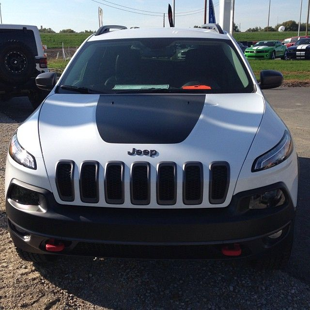 Front End Of The All New 2014 Jeep Cherokee Trailhawk We Love