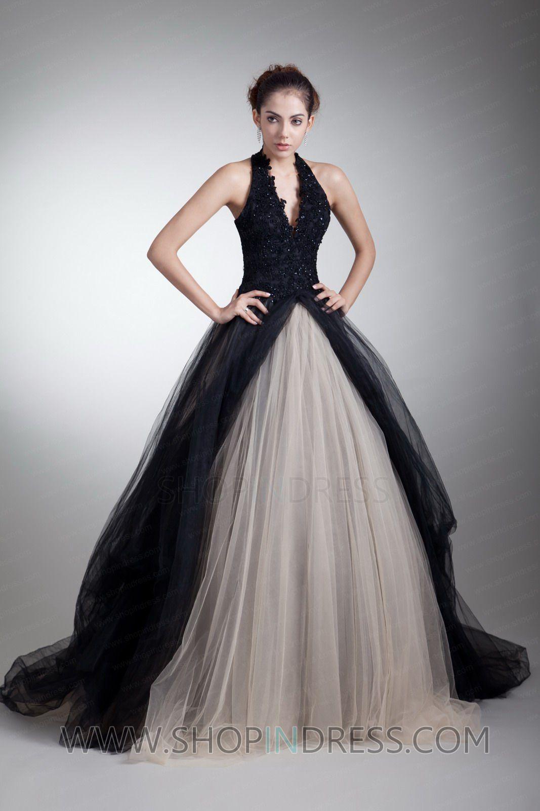 Long Black Prom Dress Masquerade
