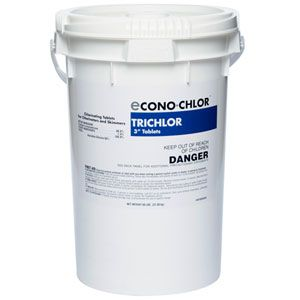 Econo chlor 3 inch chlorine tablets are a less expensive alternative to our premium in the swim for Alternative to chlorine in swimming pools
