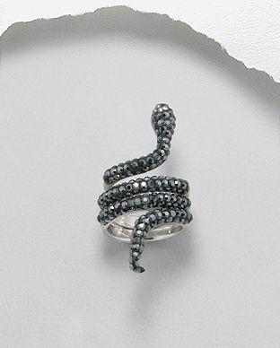التوجيه روحاني الكتاب المقدس bague serpent swarovski