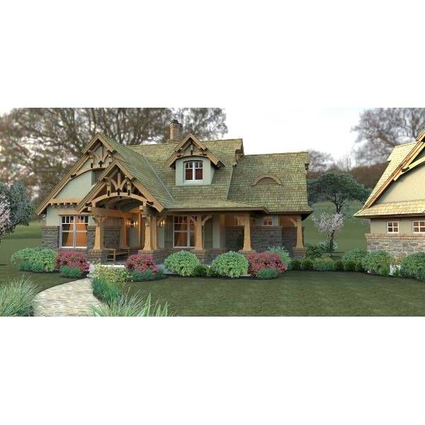 Rustic House Plans, Craftsman Style