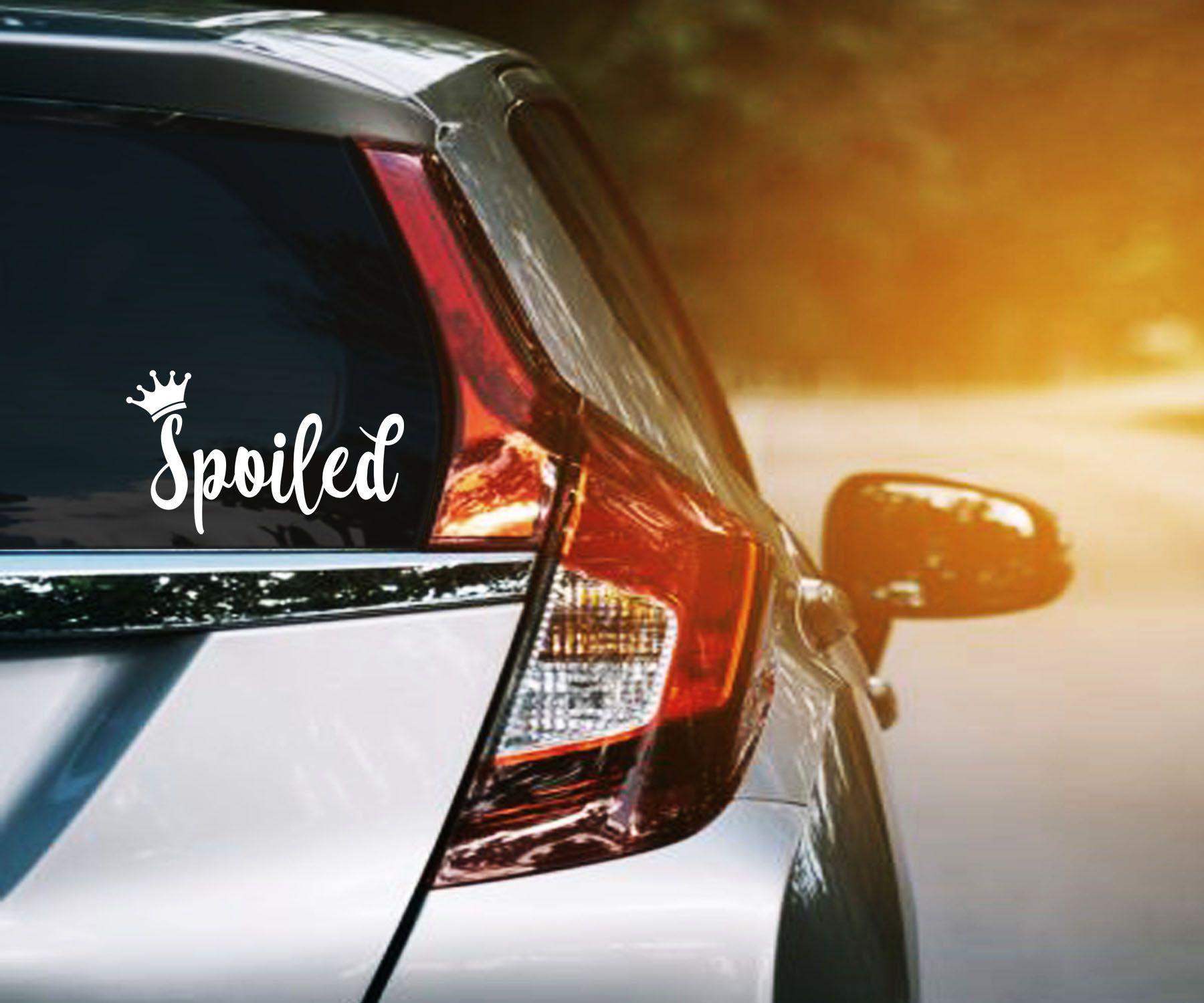 Spoiled Vinyl Decal Queen Princess Crown Car Window Sticker Etsy Vinyl Decals Window Stickers Car Window Stickers [ 1500 x 1800 Pixel ]