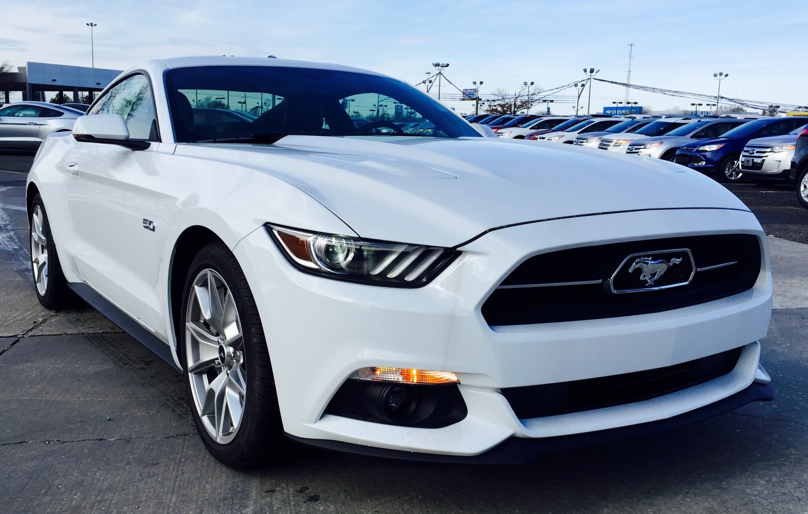 2015 Ford Mustang Gt Premium 50th Anniversary Package Full Review