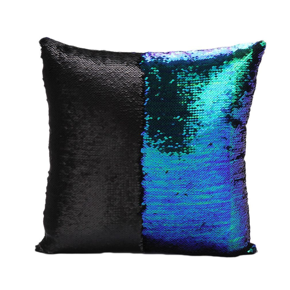 Glitter Sequins Color Changing Throw Pillow Cases Hugging Home Cushion Decorative Pillow Cover Sequin Throw Pillows Glitter Pillows Mermaid Pillow
