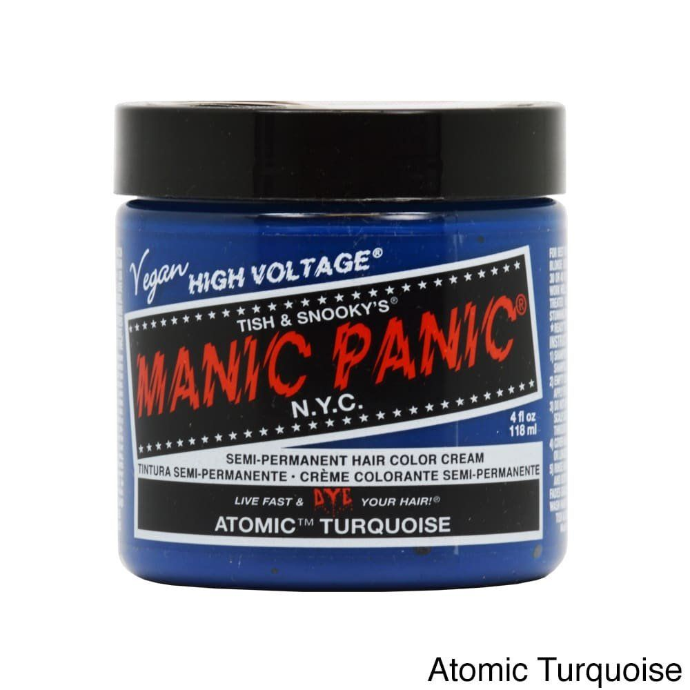 Manic panic rockabilly blue hair dye hair hair color pinterest