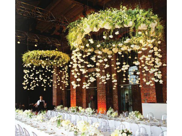 Centros de mesa para boda ¿Colgantes? El blog de María José