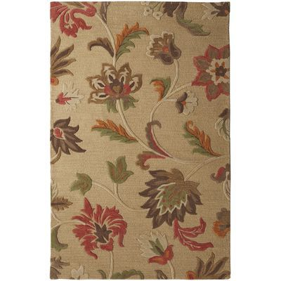 Cathe Jacobean Floral Rug 5x8 For The Home Floral