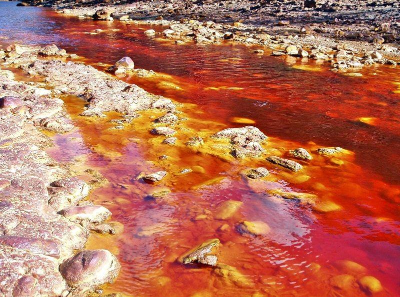 Rio Tinto, Huelva,Spain. #river #spain #red