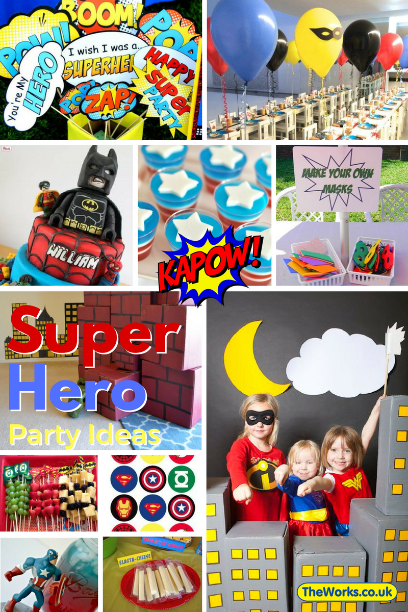 Kids Party Ideas On A Budget Free Printables Avenger Birthday