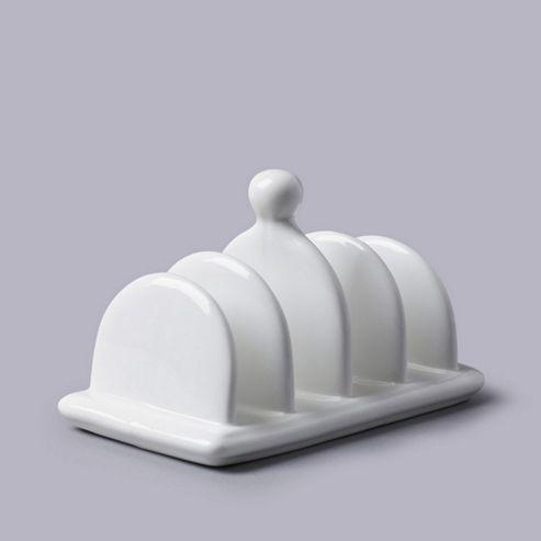White Porcelain Toast Rack