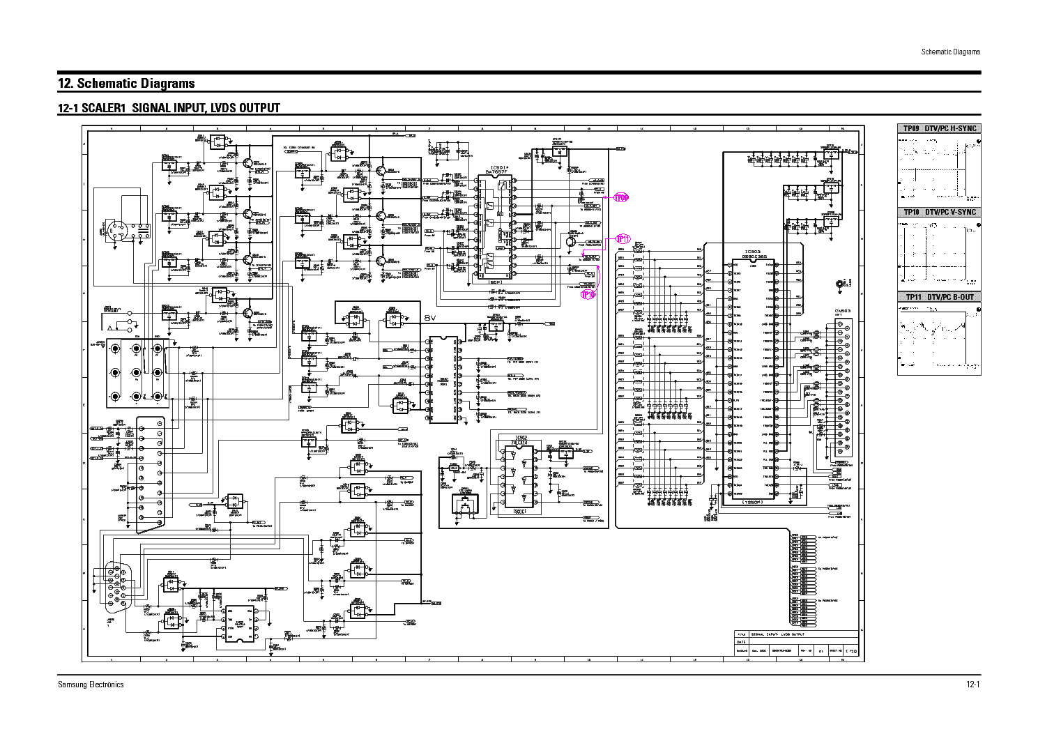 Samsung Tv Schematic Diagrams Archive Of Automotive Wiring Diagram T V Circuit Free Download Preview Ps50 Plazma Schema Electronique Pinterest Rh Com