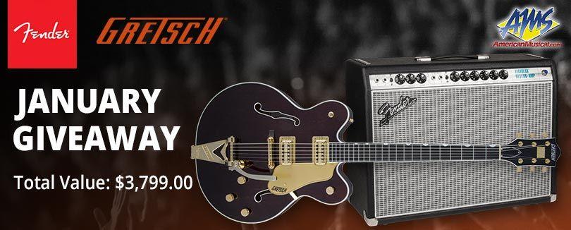 Guitar amplifier giveaways