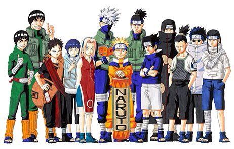 Naruto Characters.