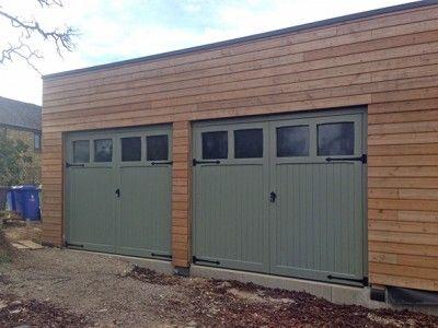 Image result for side hinged wooden garage doors uk | Edwardian ...