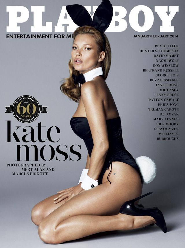 The Best Magazine Covers of 2013: Best Model for the Job - Playboy January/February  We're bending the rules a bit for this cover, which, while technically a January/February 2014 issue, was released after plenty of anticipation earlier this month. The editorial, shot by Mert Alas & Marcus Piggott, had plenty of the requisite nudity but enough edge to satisfy the fashion crowd.