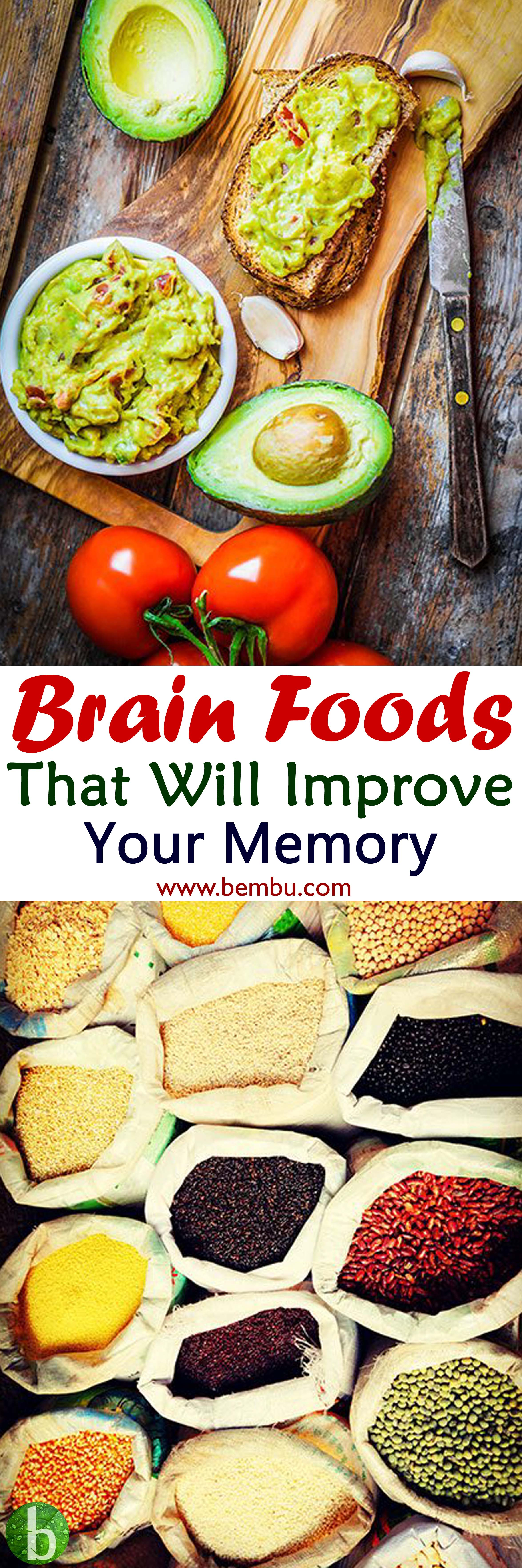 25 top notch brain foods that will improve your memory