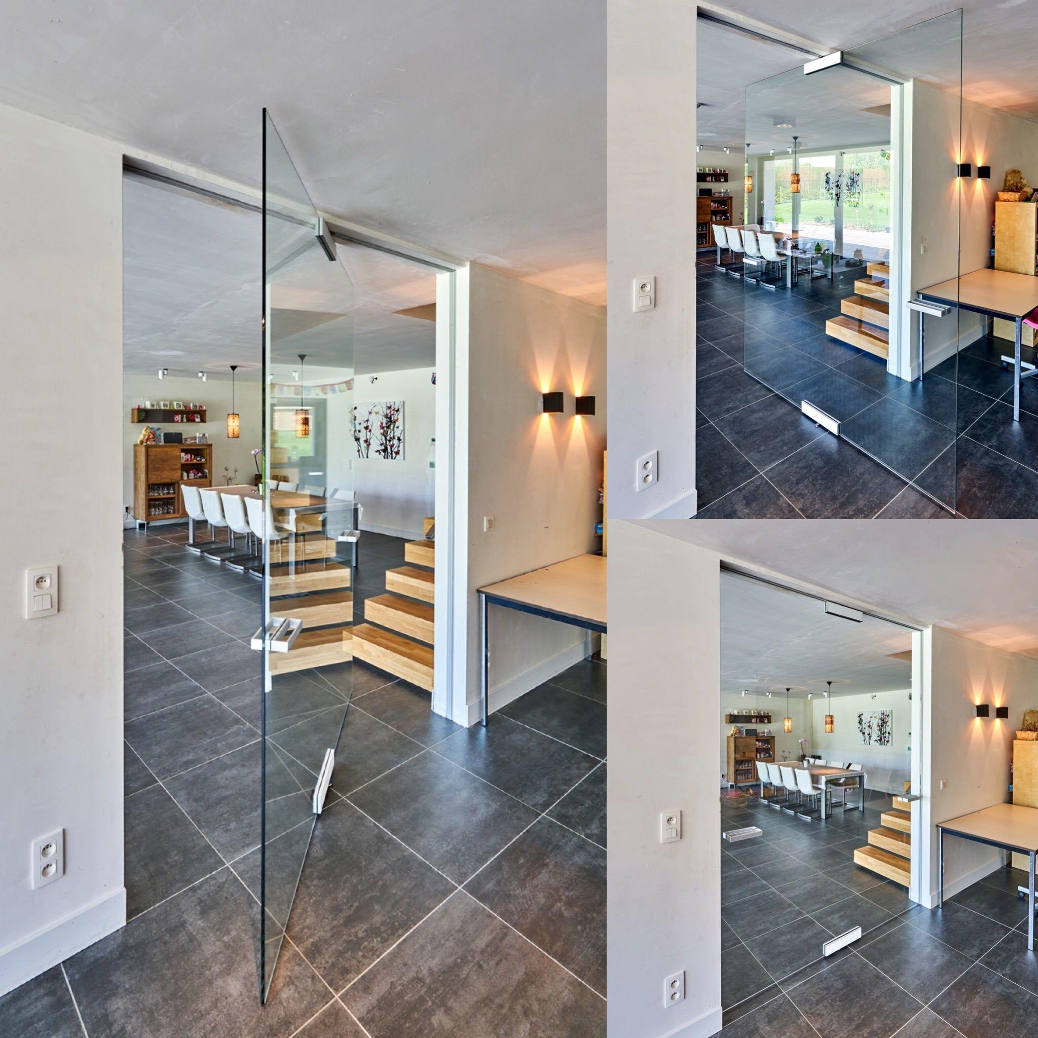 Porte Vitrée Sur Pivot Central Idées Pour La Maison Pinterest - Porte vitrée sur pivot