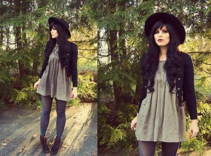 #Edgy #edgy Fashion #fashion #Grunge #Hipster #Ideas –