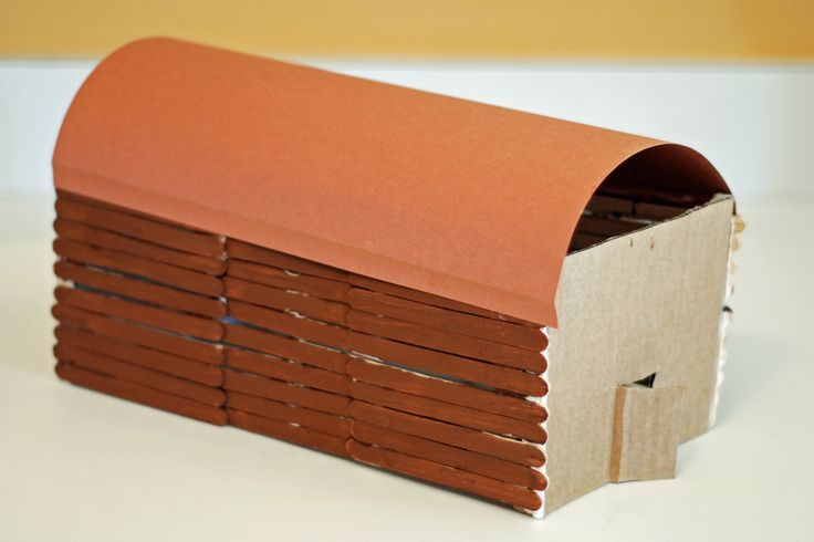 How To Make A Longhouse For A School Project Indian Blonghouse