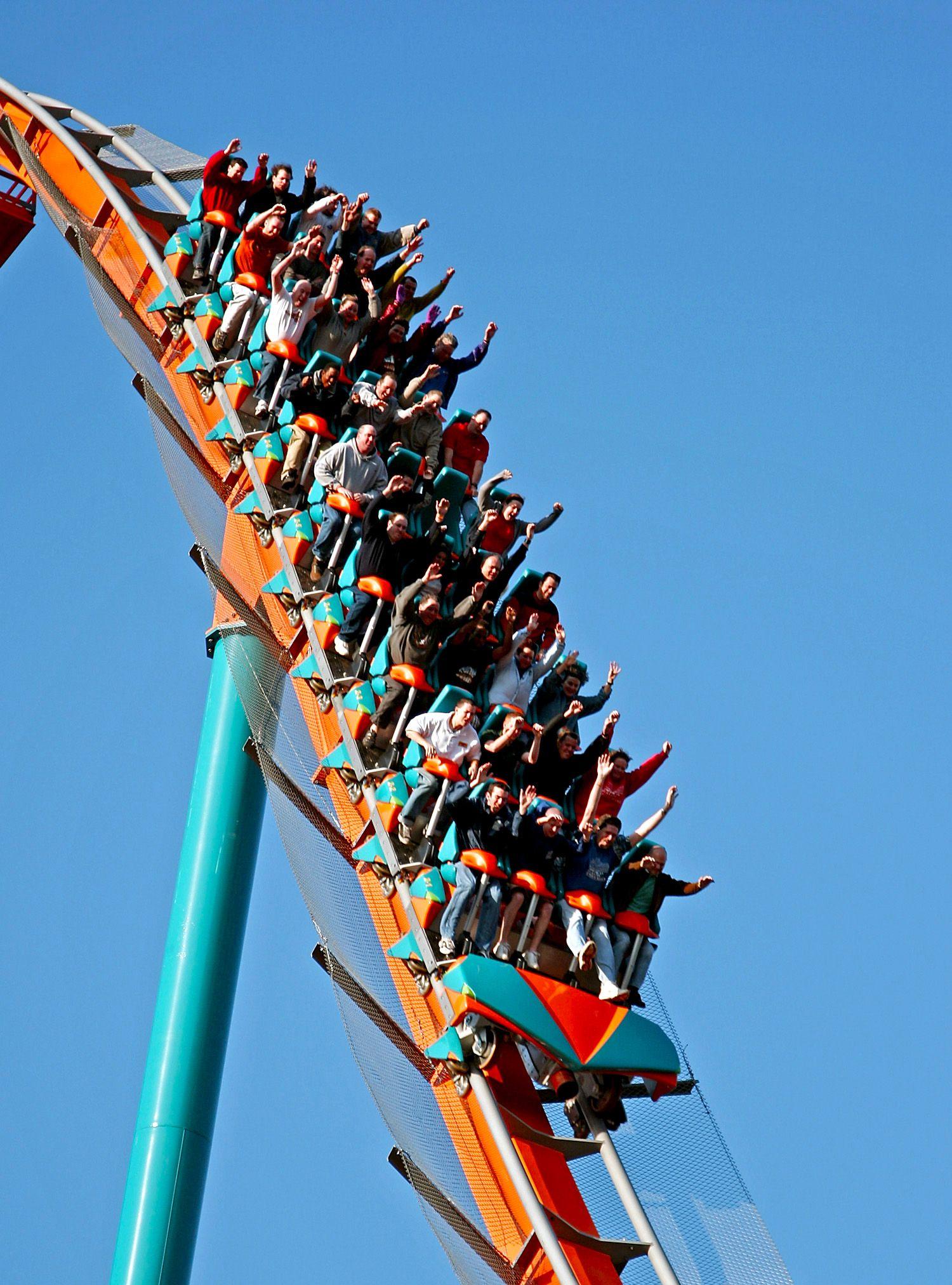 Goliath Best Roller Coasters Theme Parks Rides Amusement Park Rides