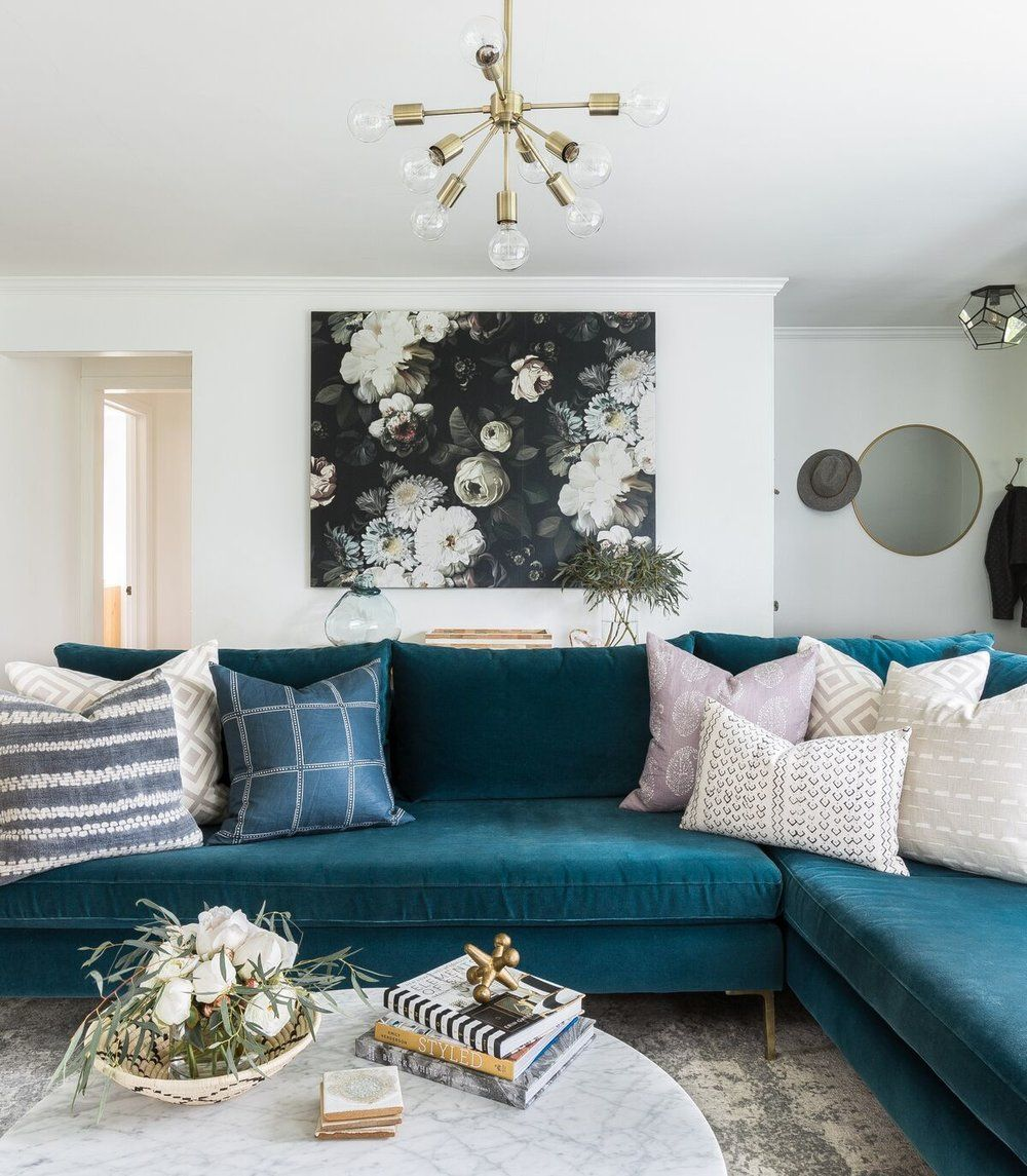 latest sofa designs for living room%0A Reader Design  Emily u    s Curated Creation