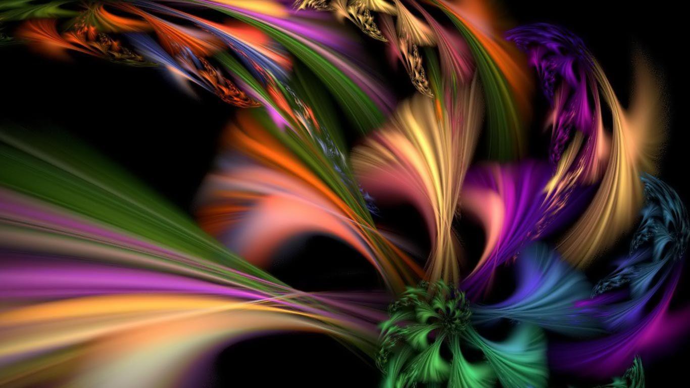 Downloads Wallpaper Rainbow Abstract Rainbow Wallpaper Wallpaper Photo Gallery