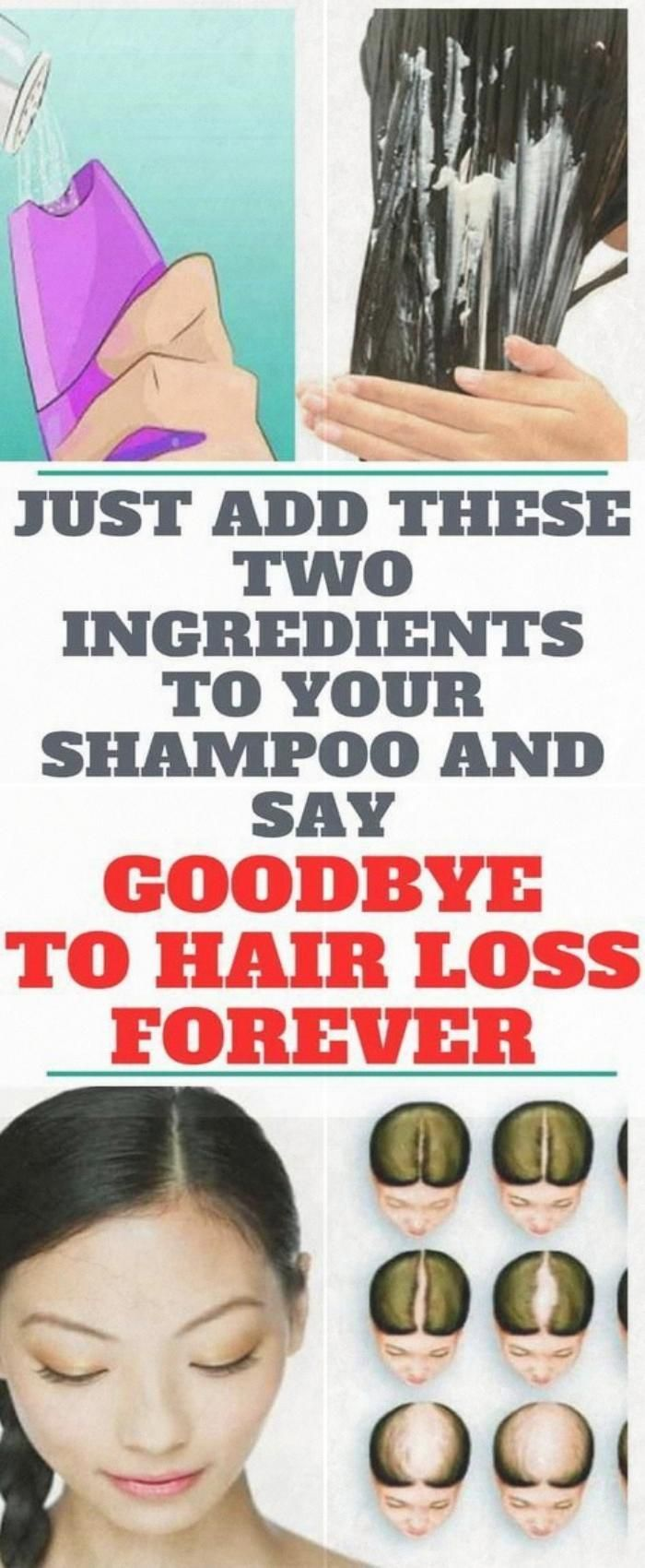 Just Add These Two Ingredients To Your Shampoo And Say