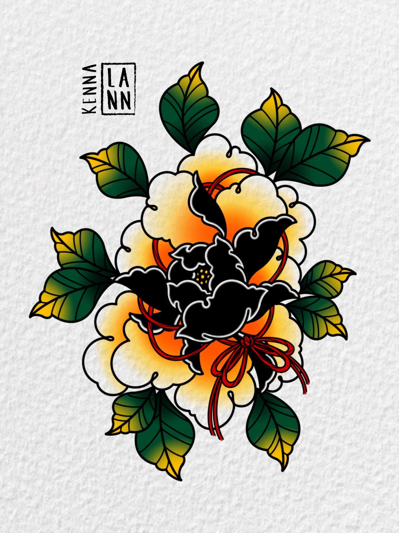 Ig kennalanntattoo with images japanese peony tattoo