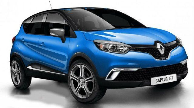 2016 Renault Captur Front Gt Suv Automobilismo Auto
