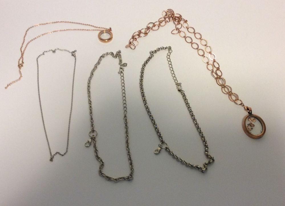 South Hills Design Locket Necklace Lot Rose Gold Silver    eBay