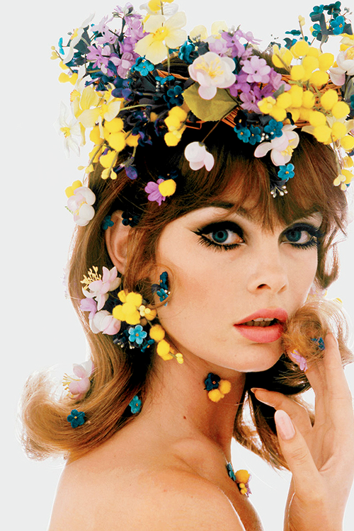 """Jean Shrimpton photographed by Bert Stern, 1965"