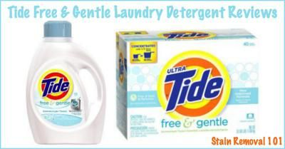Tide Free And Gentle Detergent Reviews Experiences Tide Free
